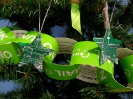 Christmas circuit board stars decoration (web size)