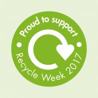 recycle week badge 2017