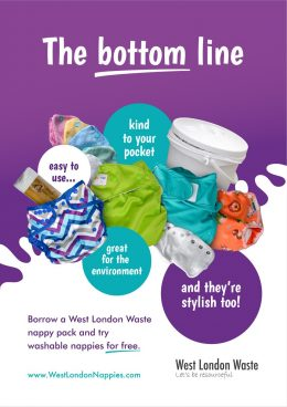 Borrow a west London nappy pack