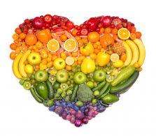 Fruit and vegetable healthy concept