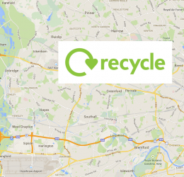 Find out where to recycling locally