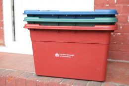New recycling refresh boxes Hounslow