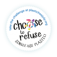 Plastic Free July - Choose to Refuse 300ppi