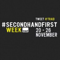 TRAID Secondhand first 2017 logo